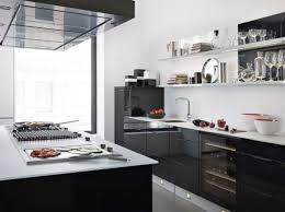 deco cuisine blanc et emejing cuisine blanc et noir pictures design trends 2017