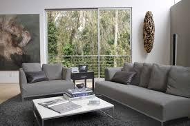 Modern Gray Sofa by Gray Living Room For Minimalist Concept Amaza Design
