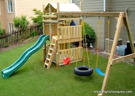 swing backyard diy plans sets costco