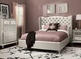 Bedframe With Headboard Bed Frames Headboards Bedroom Furniture Raymour Flanigan