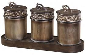 bronze kitchen canisters rubbed bronze kitchen canister set creepingthyme info