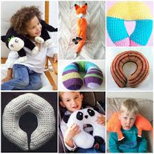 Kids Travel Pillow images Kids neck travel pillow free crochet patterns your crochet jpg