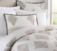mya block print quilt u0026 pillowcase pottery barn au