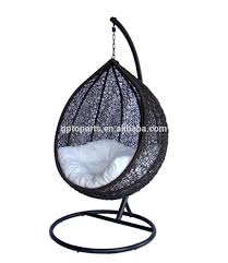 Single Person Hammock Chair Outdoor Single Person Garden Hanging Chair Black Rattan Colorful