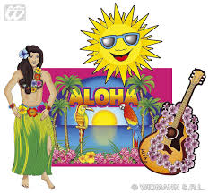 hawaiian cutouts decorations partyworld