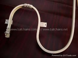 Curtain Track Curved Curved Ball Chain Curtain China Manufacturer Bead Chain Curtain