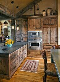 61 easy rustic kitchen design ideas that you entire family would love