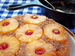 yesterfood easy pineapple upside down cake