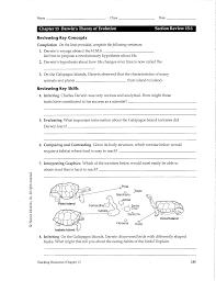 12 best images of darwin u0027s natural selection worksheet key