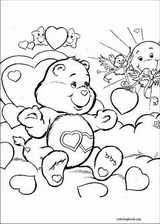 the care bears coloring pages coloringbook org
