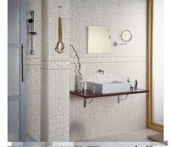 bathroom incredible bathroom decoration with brown mosaic tile