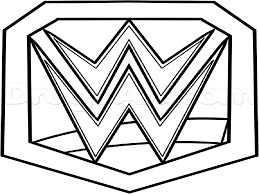 wwe coloring page free download