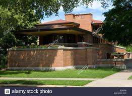 the frederick c robie house frank lloyd wright prairie style