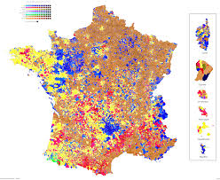 2000 Presidential Election Map by France Presidential Election 1st Round Map By Commune
