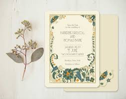 deco wedding invitations deco wedding invitations or vintage save the dates jade
