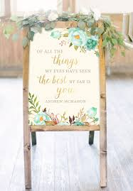 wedding quotes signs wedding signs jeneze designs