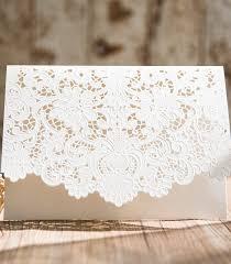 faire part dentelle mariage magnifique pochette en dentelle pour faire part de mariage