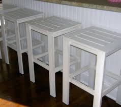 ana white stools for the bar table for the simple outdoor