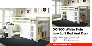 Donco Bunk Bed Donco Loft Bed Loft Beds For Toddlers Low Ceiling Bunk Beds
