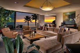 Exotic Interior Design by Exotic Tropical Living Room Designs To Make You Enjoy The View