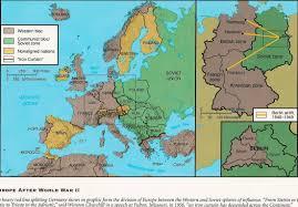 Cold War Europe Map by Wc Ch 22 World War 2 U0026 The Cold War Ih Social Studies
