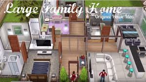 sims freeplay large family home tour youtube