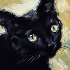 paintings to paint paintings from the black cat original painting by