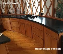 Honey Maple Laminate Flooring Cabinets Kitchen U0026 Beyond Big Island Hawaii Granite Quartz