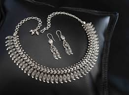 antique silver necklace chains images Necklaces bhima jewellers jpg