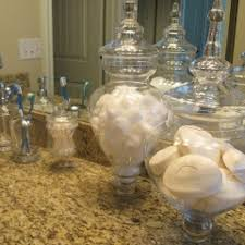 Decorative Apothecary Jars Bathroom • Bathroom Decor