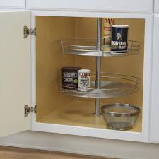double tier round lazy susan household 1118 1 cabinet and