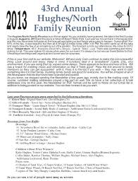 family reunion booklet sle family reunion letters template amazing invitation template