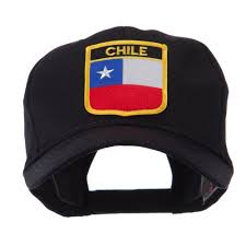 South America Flags North And South America Flag Shield Patch Cap Chile Hats
