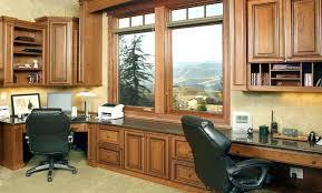 Dark Wood Office Desk Wall Units Inspiring Custom Built Office Cabinets Custom Built