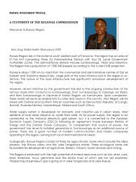 Radio Tbc Taifa Tanzania Dar Es Salaam Rukwa Investment Profile Livestock Tanzania