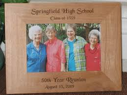 50th high school reunion souvenirs school picture frames personalized school picture frames