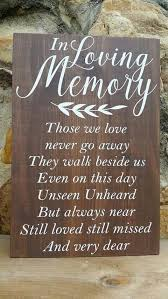 wedding memorial sign wedding memorial ideas 26 best chwv a wedding memorial ideas