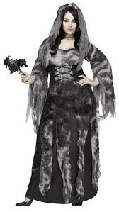 women u0026 039 s cemetery bride costume fancy dress halloween grey