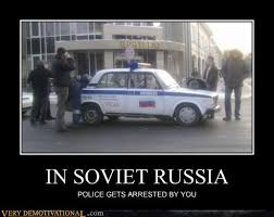 Russian Car Meme - in soviet russia very demotivational demotivational posters