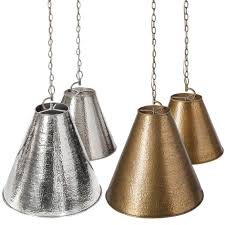 barbara cosgrove hammered metal pendant candelabra inc
