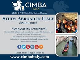 study abroad in italy cimba overview spend a semester or summer in