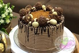 chocolate cake with mocha frosting filipino dessert recipes by