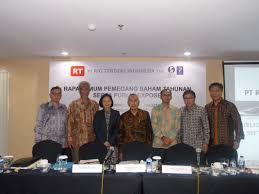 agm 2015 result rigtenders indonesia