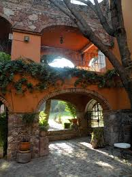 mexican decor beautiful arches in this mexican home spanish