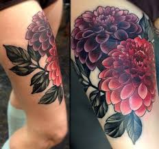 flowers thigh designs for tattooshunt com