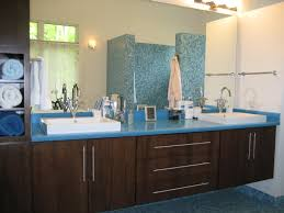marvelous modern interior design for small bathroom with brown