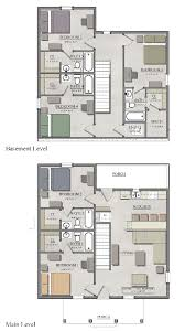 5 Bedroom Floor Plans With Basement 5 Bedroom Cottage W Basement The Cottages Of Boone