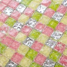 Wholesale Backsplash Tile Kitchen by Wholesale Mosaic Tile Crystal Glass Backsplash Washroom Design Ice