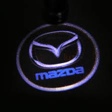 logo de mazda luz de cortesia o proyector led de logo mazda para puerta masluz