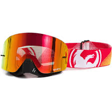 fox air space mx goggle dragon nfx fade orange red ionized goggles mxstore picks